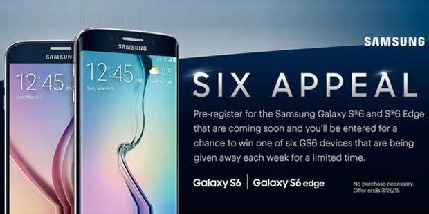 Fotos zeigen Galaxy S6 & S6 Edge