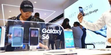 Galaxy-Handys wieder vor iPhones