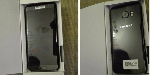Mann verkauft Galaxy S7 Edge bereits im Internet