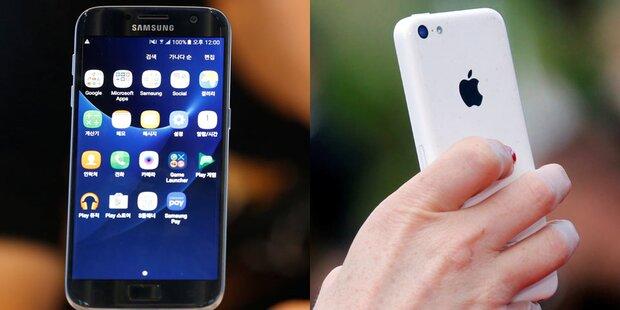 Galaxy-S7-Erfolg setzt iPhone 7 unter Druck