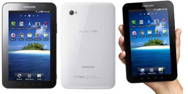 Galaxy Tab greift jetzt iPad an