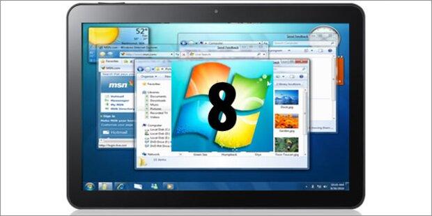 Es gibt neue Einzelheiten zu Windows 8