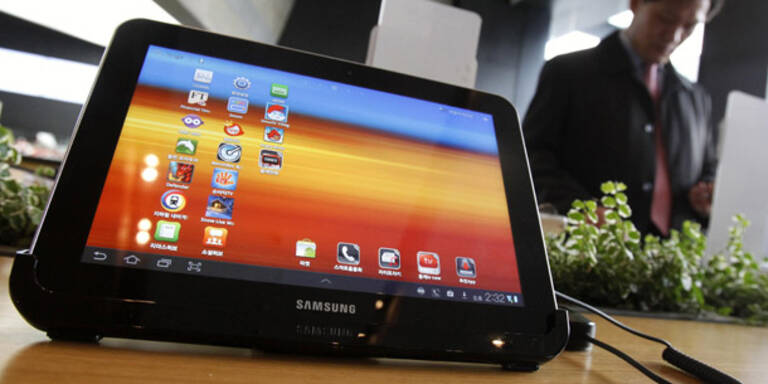 US-Richter stoppt Samsungs Galaxy Tab