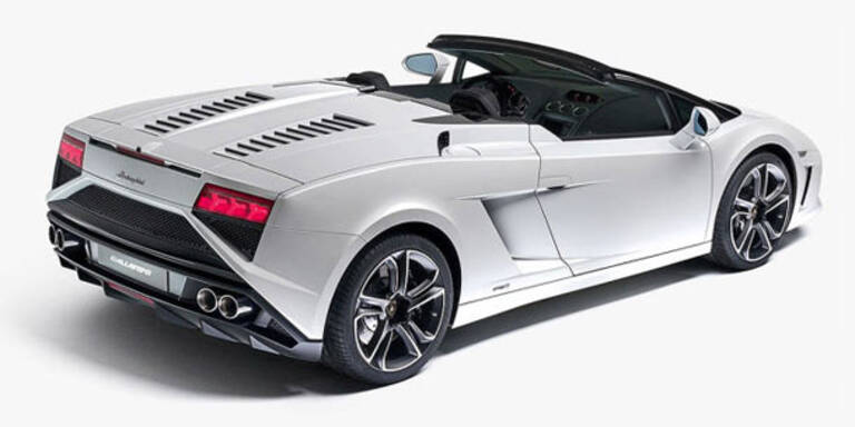 Lamborghini Gallardo Spyder Facelift
