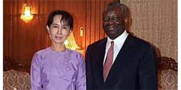 UN-Gesandter trifft Junta-Chef in Burma
