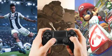 Die meistverkauften Videospiele des Jahres