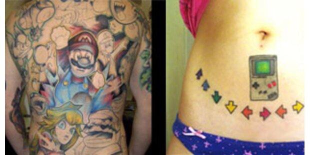 Die 30 peinlichsten Game-Tattoos