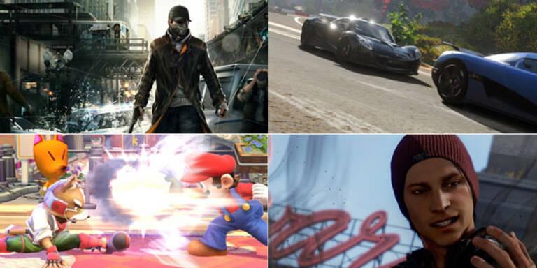 Das sind die 20 Game-Blockbuster 2014