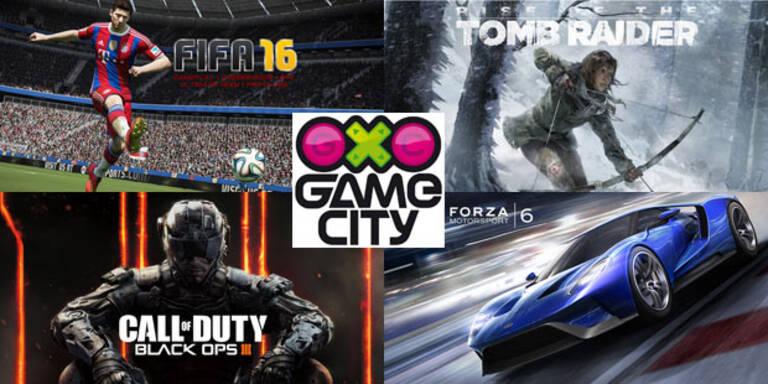 Die besten Spiele der Game City 2015