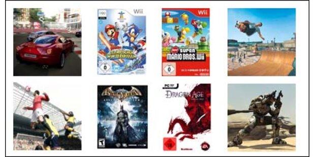 Die besten Video-Games für Weihnachten