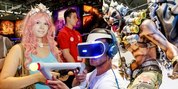 gamescom peilt zum Jubiläum Rekord an