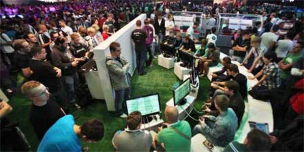 Publikum stürmt die Gamescom 2010