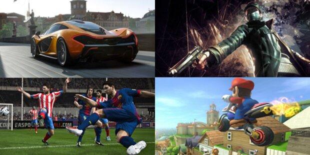 Die besten Spiele der gamescom 2013