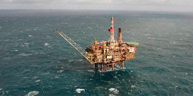 Öl-Leck auf Nordsee-Plattorm
