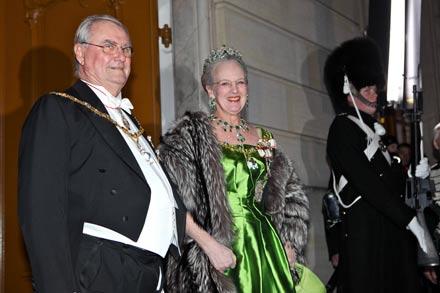 Prinz Henrik von Dänemark und Königin Margarethe