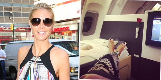 Heidi Klum: Ärger über Luxus-Prahlerei