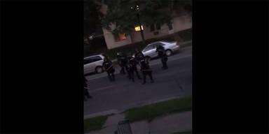 Schock-Video: Nationalgarde schießt auf Zivilisten auf Veranda