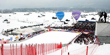 Garmischer WM-Abfahrt in Gefahr