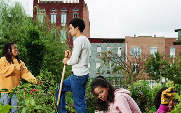 So klappt's mit  Garten am eigenen Dach