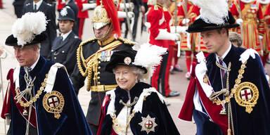 Prinz William, Queen, Charles