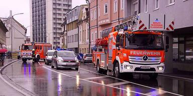 Gas-Alarm in Klagenfurt: Wohnhäuser evakuiert