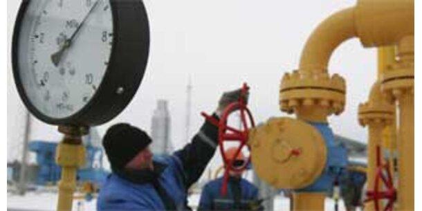EU drängt auf Wiederaufnahme russ. Gaslieferungen