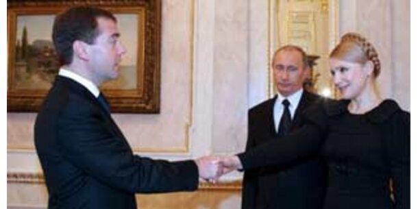Moskau und Kiew unterzeichnen Gas-Vertrag