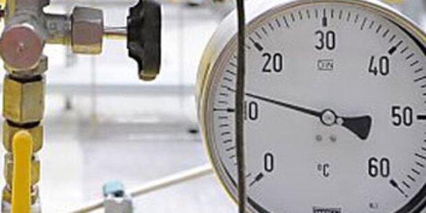 Gasrohr in Meidling gebrochen