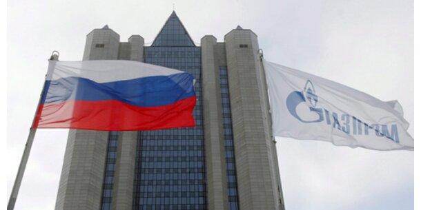 Gazprom prüft Partnerschaften in Deutschland