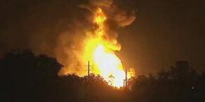 Verletzte bei Explosionen in US-Gaswerk