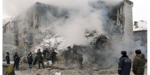 Sieben Tote bei Gasexplosion in russischem Haus