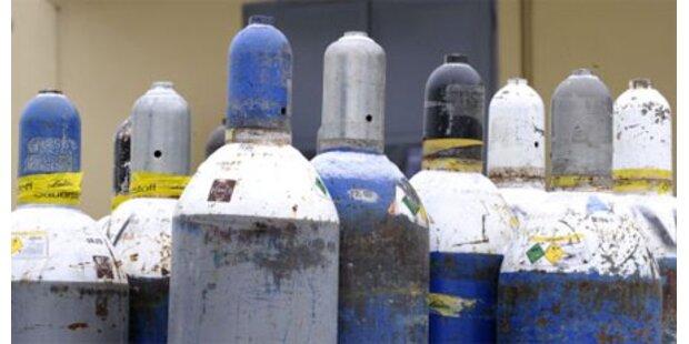 Pongau: Gasflasche drohte zu explodieren