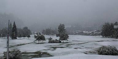 Erste Bilder: Hier liegt schon Schnee