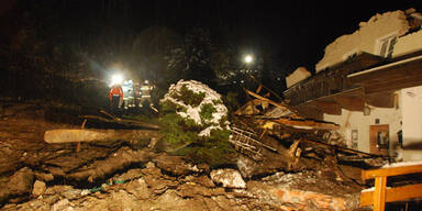 Mure zerstörte zwei Wohnhäuser