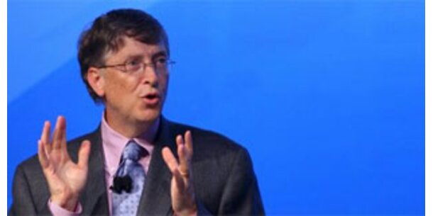 Bill Gates wird ärmer