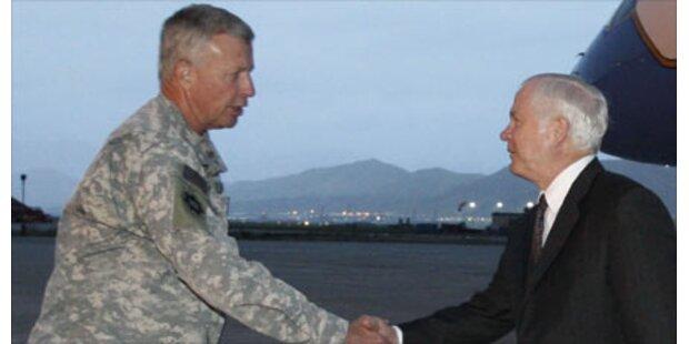 USA ziehen Armeechef aus Afghanistan ab