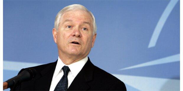 Pentagon-Chef Gates übt Einigkeit mit London