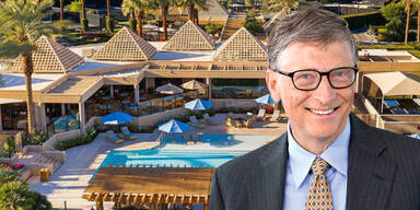 Bill Gates versteckt sich in Milliardärs-Club