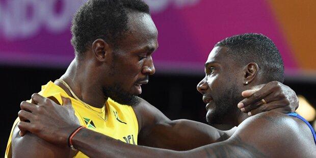 Gatlin bei Bolt-Abschied gnadenlos ausgebuht