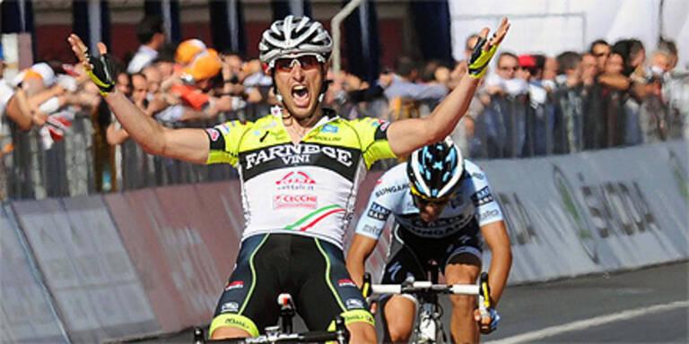 Giro: Gatto gewinnt 8. Etappe vor Contador