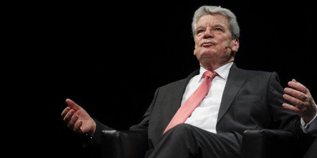 CDU akzeptiert Gauck nun doch