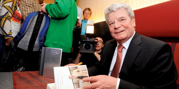 Gauck: Von Wien ins Schloss Bellevue