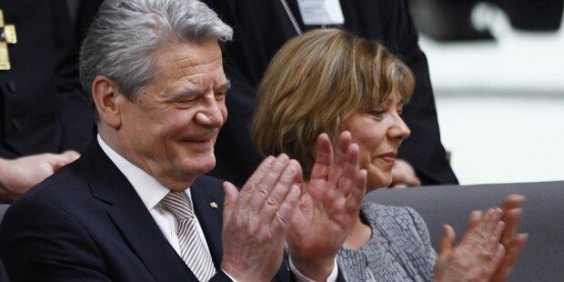 Gauck neuer deutscher Bundespräsident