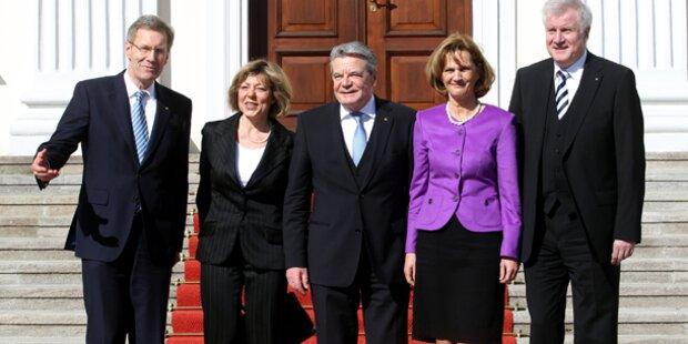 Gauck zieht ins Schloss Bellevue