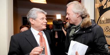 Gauck folgt Wulff: Er erfuhr es in Wien