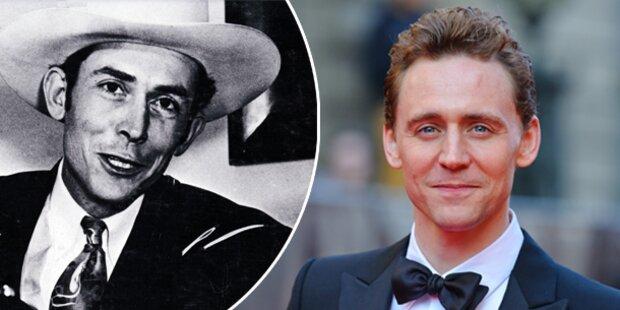 Tom Hiddleston spielt Hank Williams