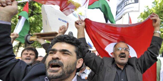 Israel-Gegner demonstrieren in Wien