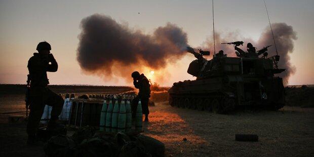 Der Gaza-Konflikt aus dem All