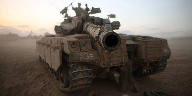 Hamas entführt israelischen Soldaten
