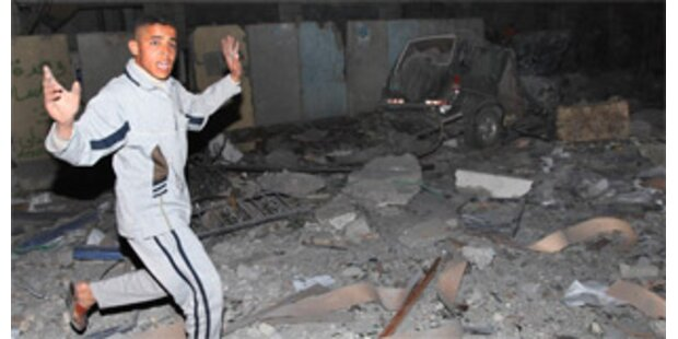 Israel fliegt Angriff gegen Hamas -14 Tote